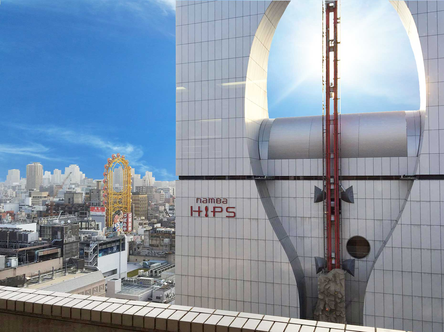 大阪なんばHIPSの風景